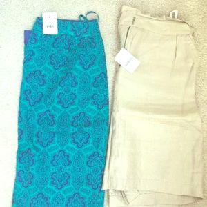 Jcrew skirts size 0